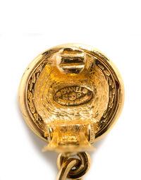 Chanel drop pendant earrings, 1990s