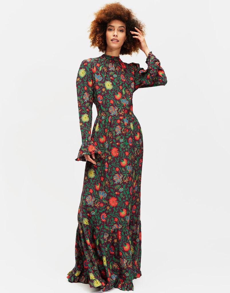 Dragon Flower Viola Visconti Dress