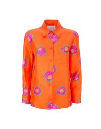 Boy Shirt in Papaveri Arancio