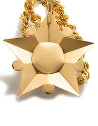Karl Lagerfeld star necklace, 1985