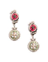 Gianni Versace blazon earrings, 1990s