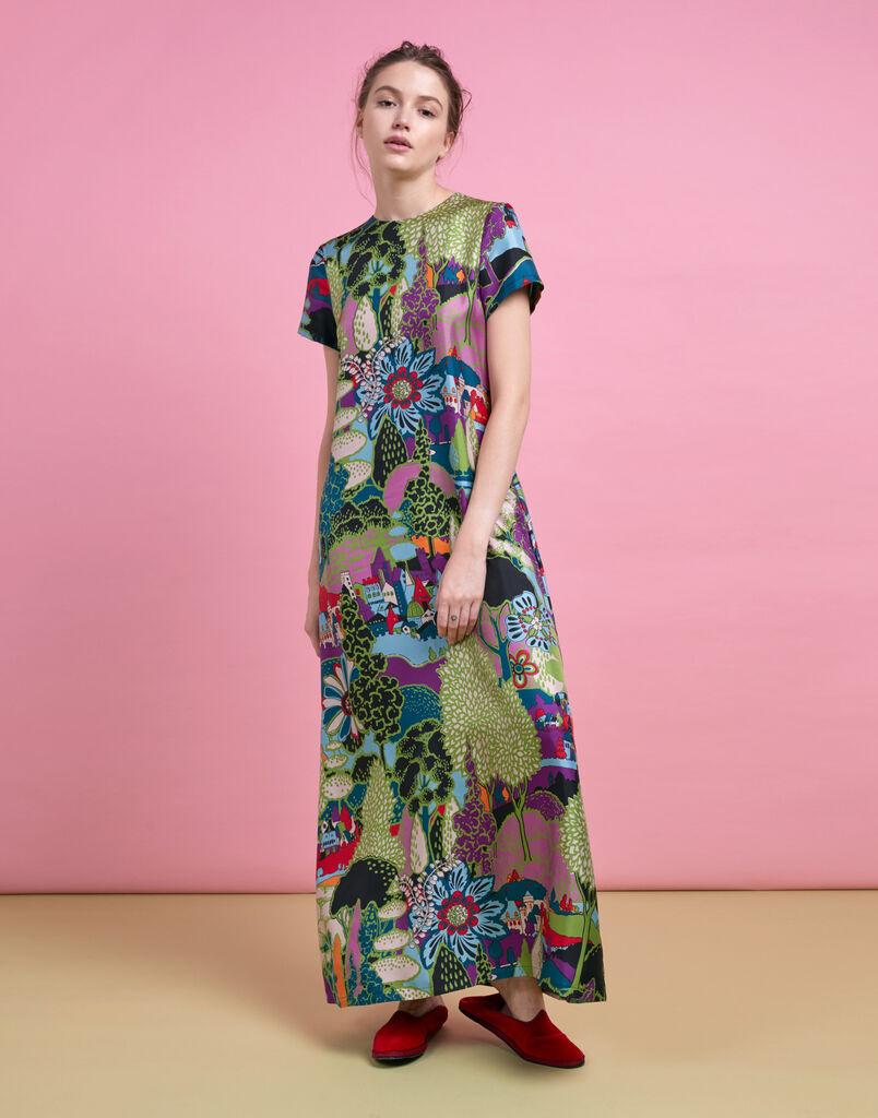 Paesaggio Swing Dress