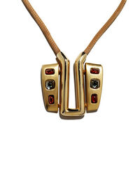 Pierre Cardin necklace and earring set, 1970s