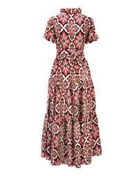 Palazzo Rosa Long & Sassy Dress