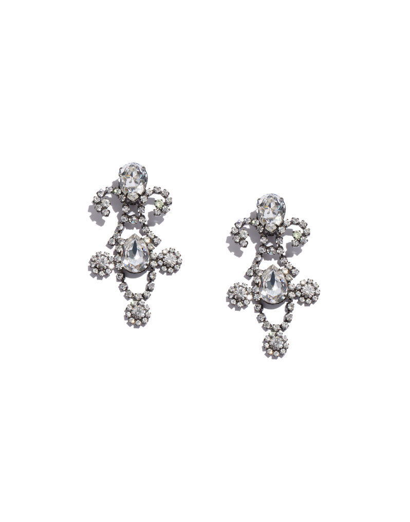 Kenneth Jay Lane 18th century-style earrings, 2000s