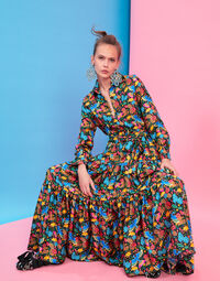 Bellini Dress - Colombo Piccolo in Silk