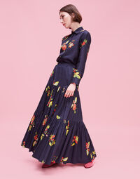 Big Skirt - Space Flower in Cotton