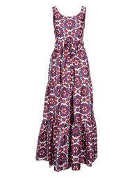Pellicano Dinner Dress in Kaleidoscopio Blu