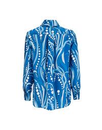Boy Shirt in Polipo Blu