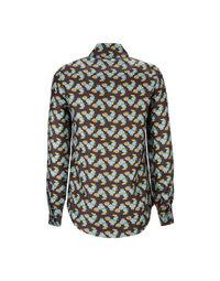Boy Shirt in Choco Galletti
