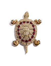 Tortoise pin, 1940s