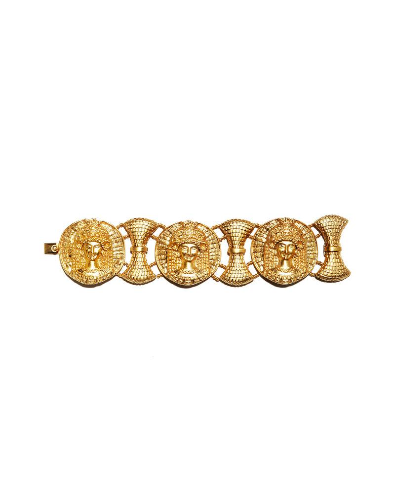 Gianni Versace bracelet and necklace set by Ugo Correani, c. 1990