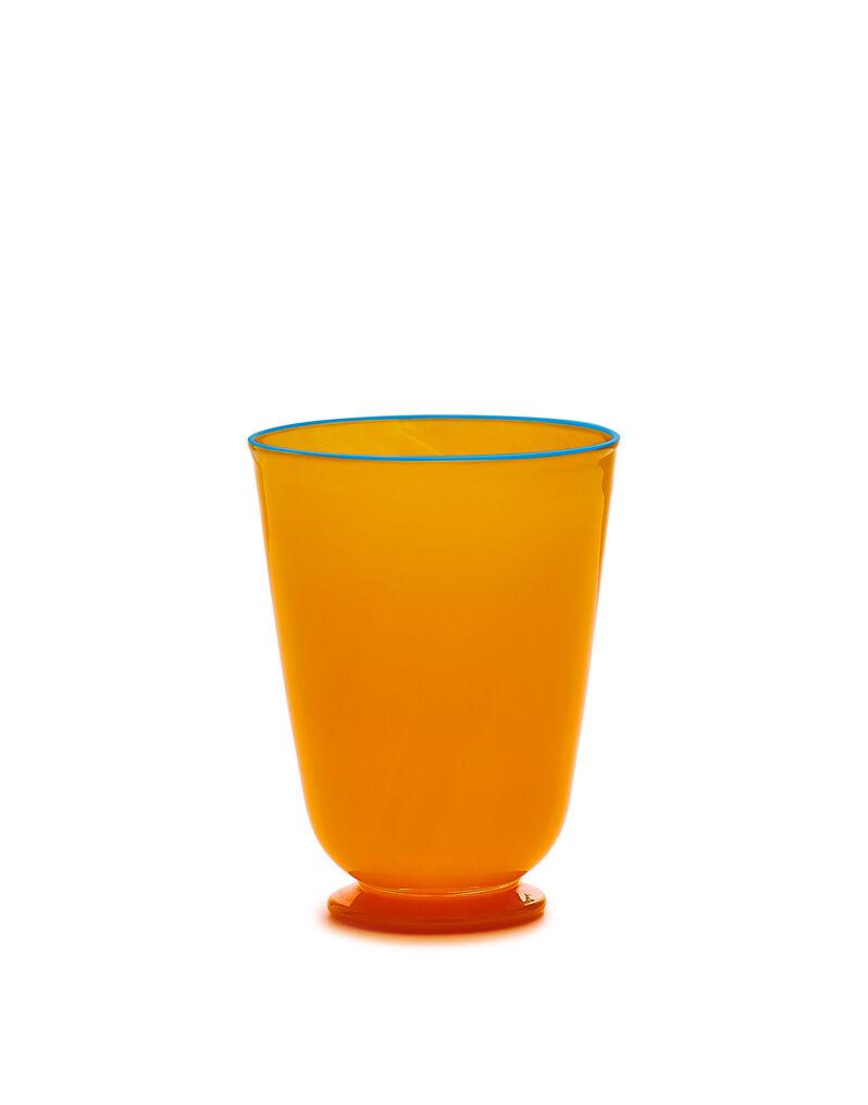Orange Glasses set of 2
