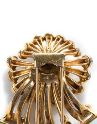 Art Deco Flower pin, 1940s