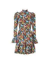 Short Visconti Dress - Colombo Piccolo in Crepe de Chine