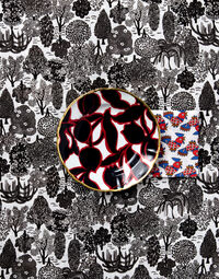 Oppio Dessert Plates Set of 2