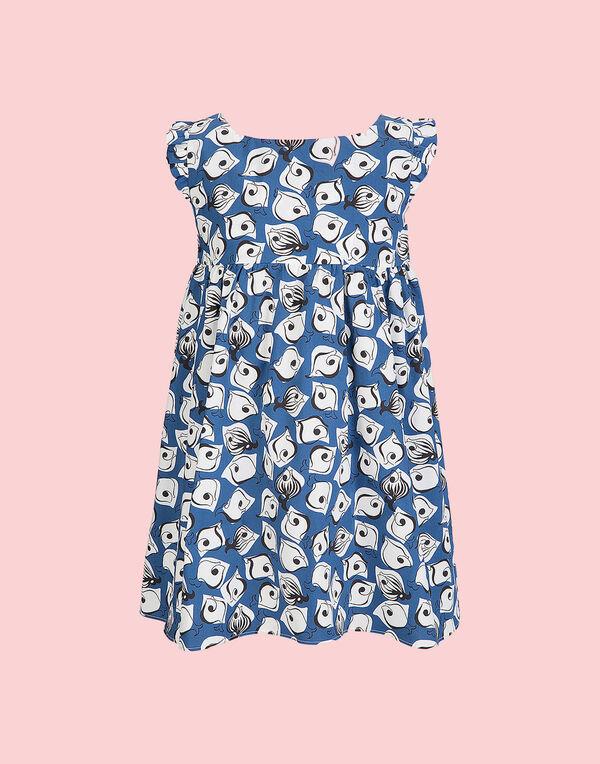 Piccola DoubleJ Pesciolini Blu Dress