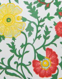 Trapezio Dress in Dragonflower