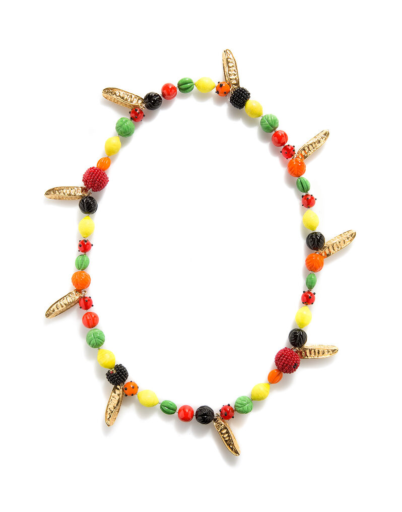 Isabel Canovas 'tutti frutti' necklace, 1980s