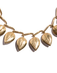 Leaves necklace, 1990s