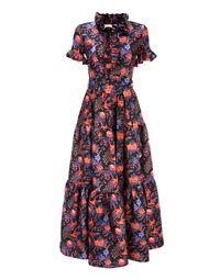 Pavone Nero Long & Sassy Dress