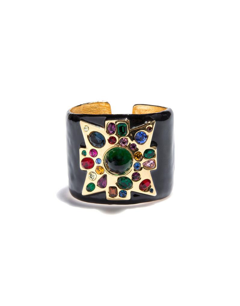 Kenneth Jay Lane cuff bracelet, 2000s