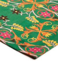 Medium Tablecloth in Stella Alpina Verde