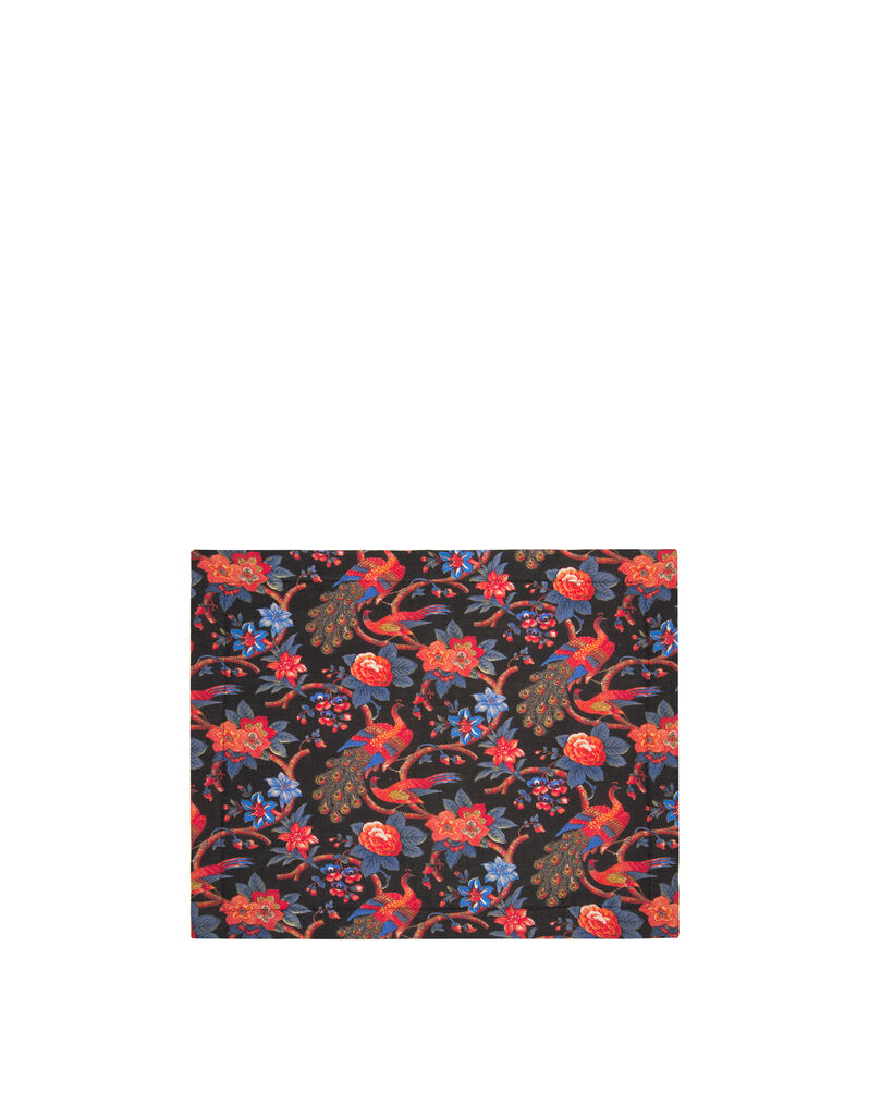 Pavone Nero Tablemat Set of 2 (35x45)
