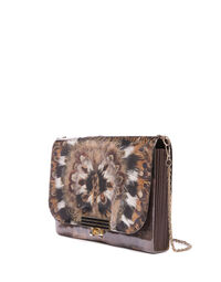 Feather handbag, 1970s