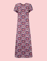 Swing Dress in Kaleidoscope Blu