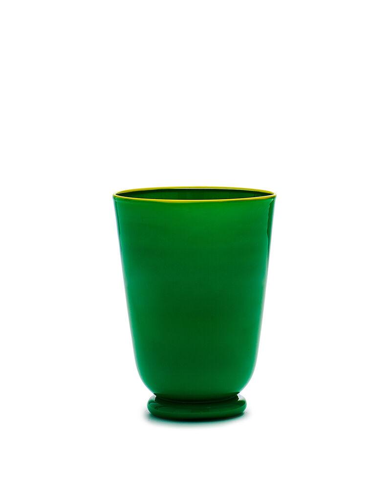 Green Glasses set of 2