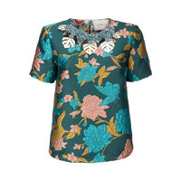 Lilium Verde The Embroidered Jazzy Tee