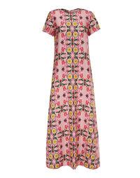 Swing Dress - Stella Alpina Rosa in Silk