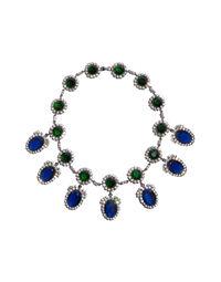 Kenneth Jay Lane festoon necklace, 2000s