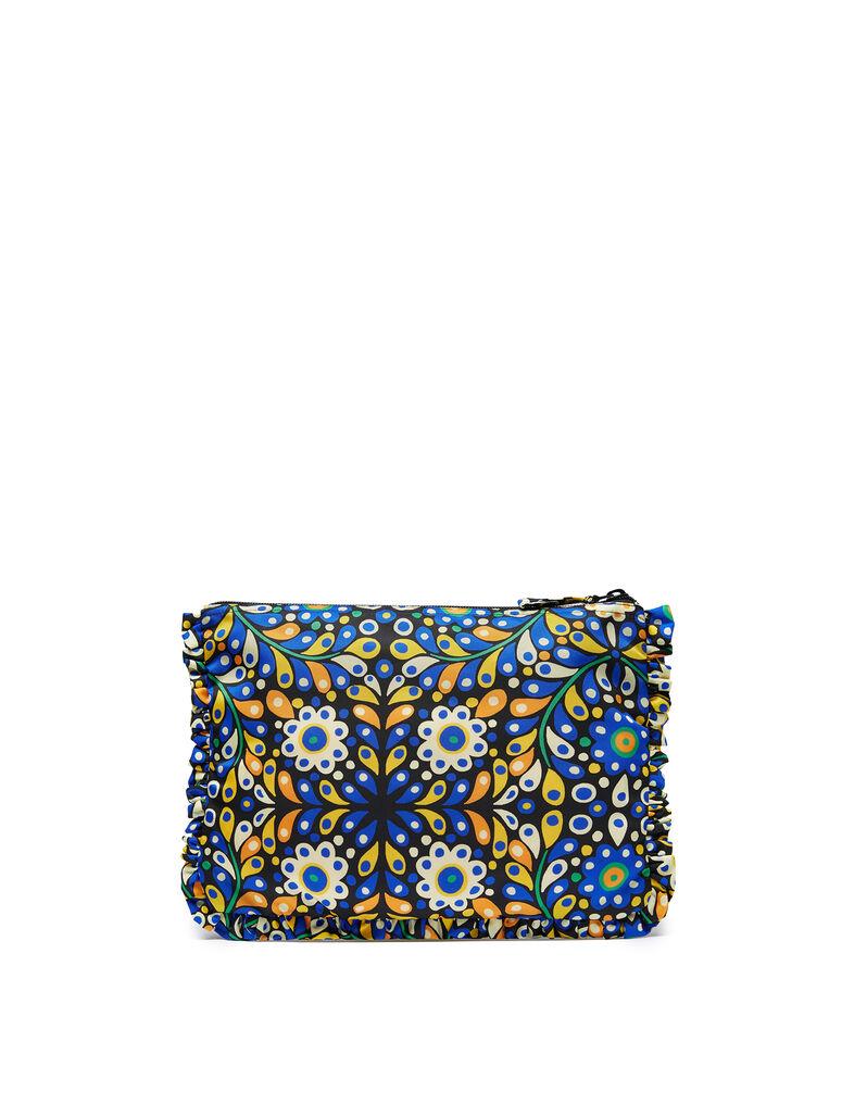 Hand Pochette - Confetti Blu in Nylon