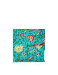Medium Tablecloth in Dragon Flower Turchese