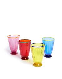 Rainbow Glasses set of 4