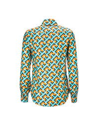 Boy Shirt in Domino Giallo