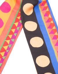 Tight Double Scarf - Mexico Triangoli in Silk