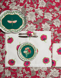 Posie Dessert Plates Set of 2