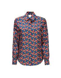 Boy Shirt in Galletti Blu