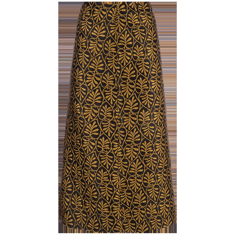 Foglie Pencil Skirt