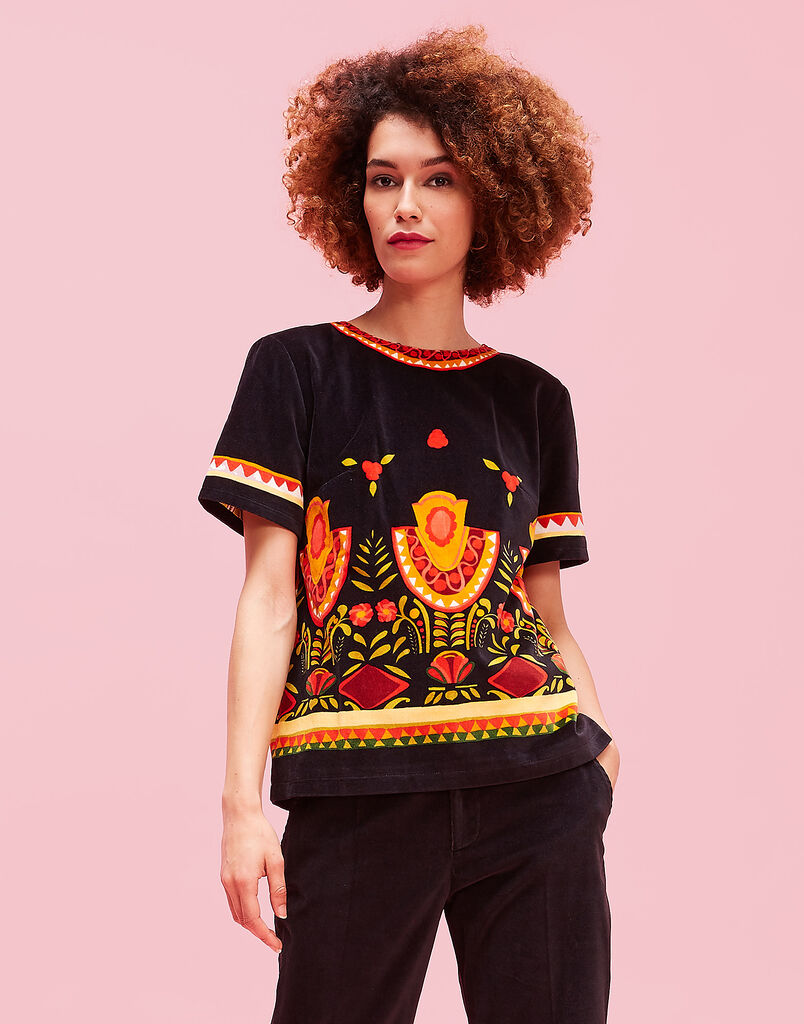 Messico Nero The Jazzy Tee