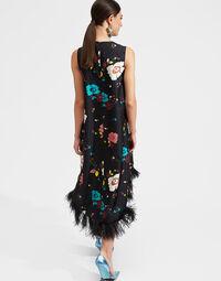 La Scala High Dress (With Feathers) 3