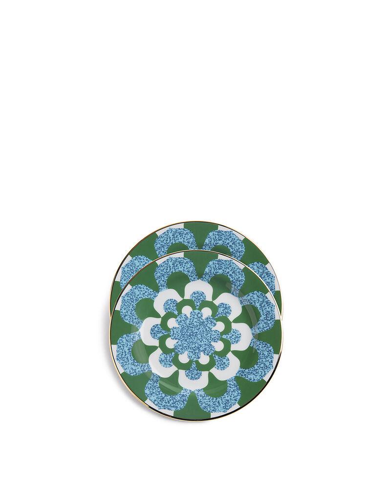 Mosaico Blu Dessert Plates Set of 2
