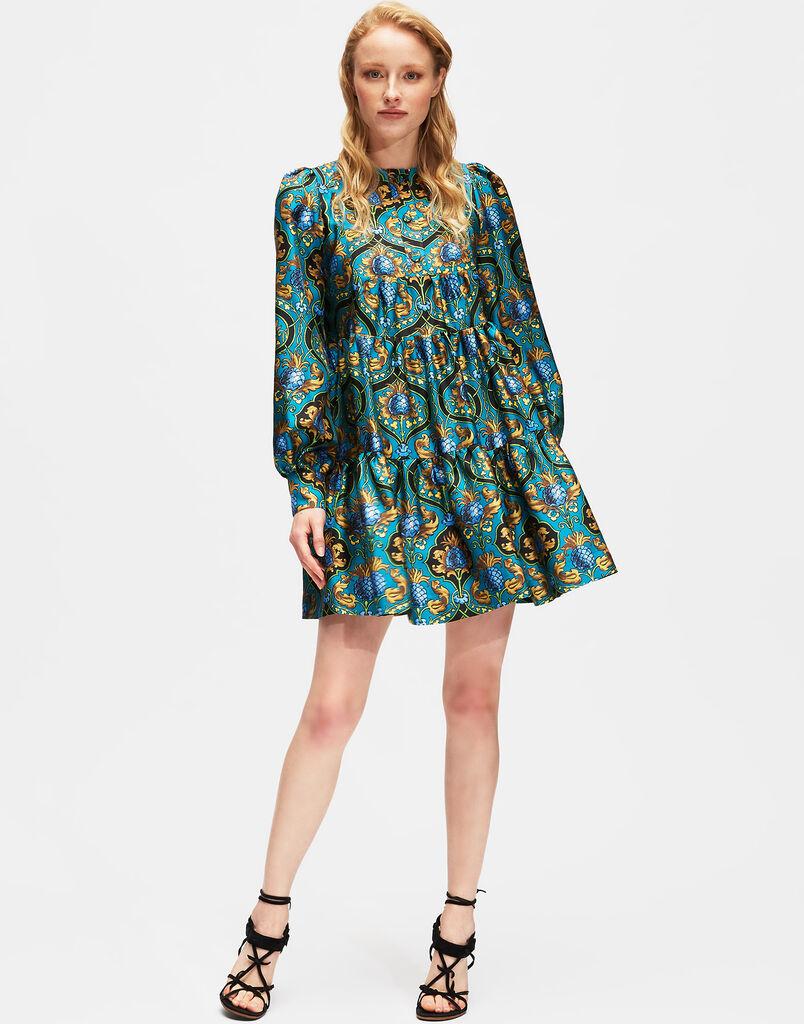 Ananas Peasant Dress