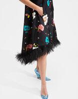 La Scala High Dress (With Feathers)