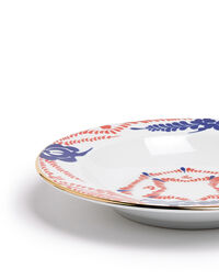 Soup And Dinner Plates Set 5