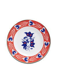 Soup And Dinner Plates Set 3