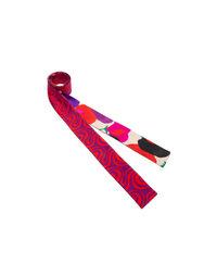 Skinny scarf 7x300cm - Poppy + Helter Skelter Viola